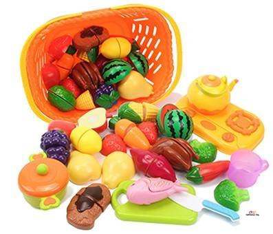 Small Product Image Of AMOSTING Kids Pretend Food Play Set