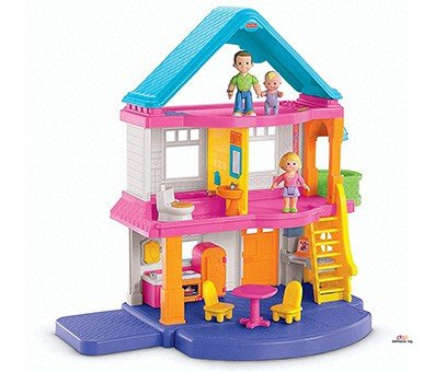 Small Product Image Of Fisher-Price My First Dollhouse