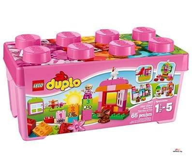 Small Product Image Of LEGO DUPLO All-In-One Pink Box of Fun