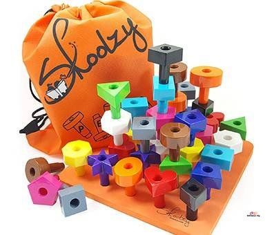Small Product Image Of Pegboard Shapes Puzzle