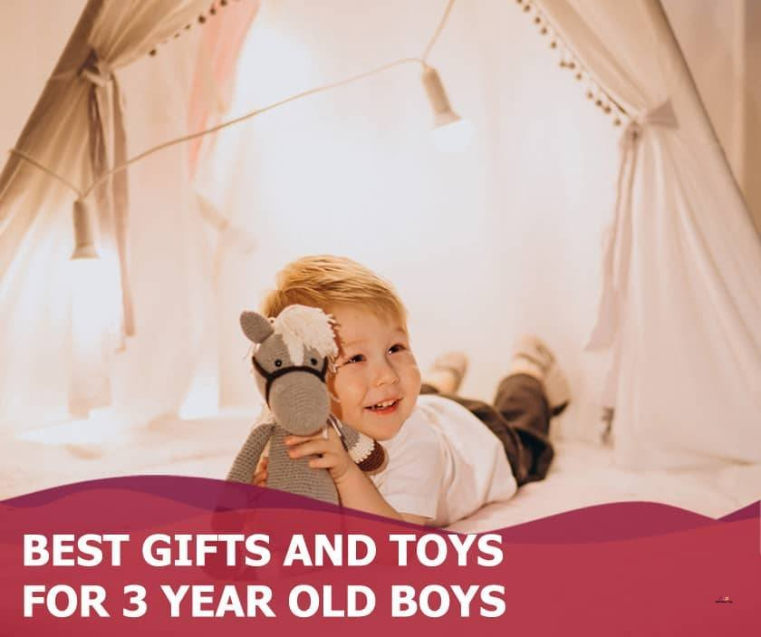 Featured image of Young boy in a tent
