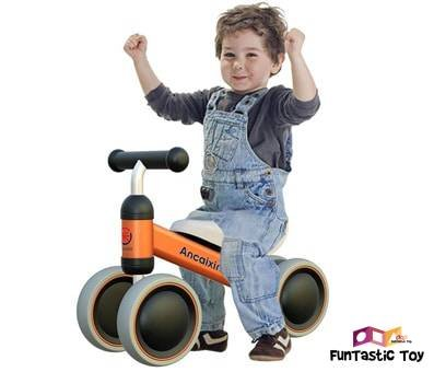 Product image of Ancaixin Toddler Balance Bike with 4 Wheels