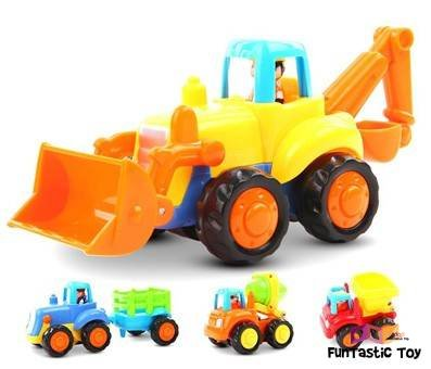 Product image of Friction Powered Construction Car Toys by GoStock