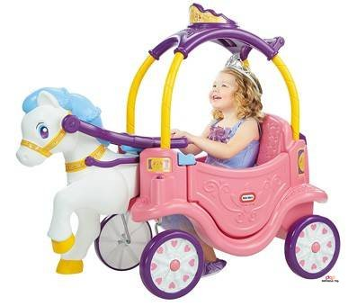 Product image of Little Tikes Princess Horse & Carriage