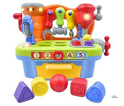 Product image of Toy Workshop Playset with Interactive Sounds & Lights