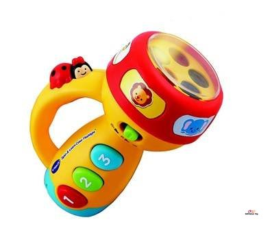 Product image of VTech Spin and Learn Color Flashlight Boys