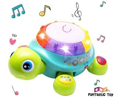 Product image of iPlay, iLearn Musical Turtle Toy