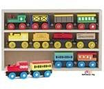 Small Product image of Play22 Wooden Train Set 12 pcs