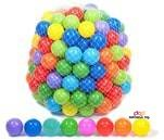 Small Product image of Playz 500 Soft Plastic Mini Balls Set with 8 Vibrant Colors