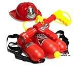 Small Product image of Prextex Fireman Backpack Water Gun Blaster with Fire Hat