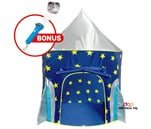 Small Product image of Rocket Ship Play Tent for Boys