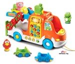 Small Product image of VTech Pull and Learn Car Carrier Pull