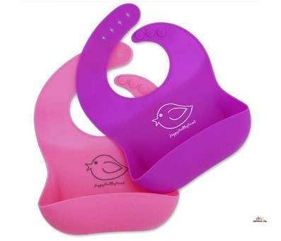 Small Product image of Waterproof Silicone Bib Food Crumb Catcher