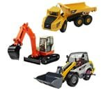 Small Product image of iPlay, iLearn Heavy Duty Construction Site Play Set