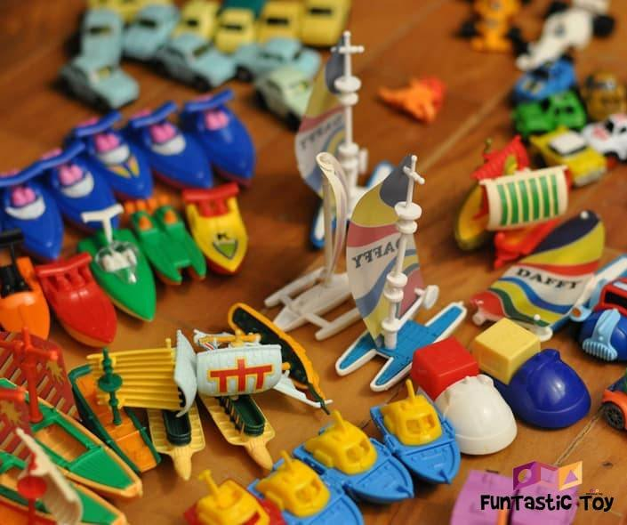 Image of plastic toys