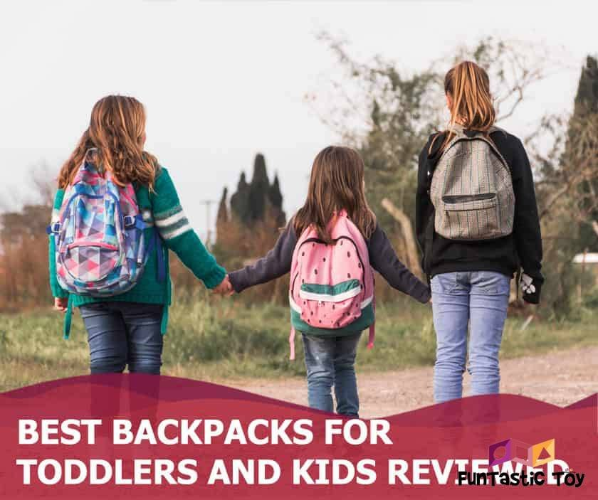 Featured image of Three girls with backpacks holding hands