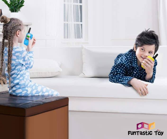 Featured image of brother and sister playing with walkie talkies