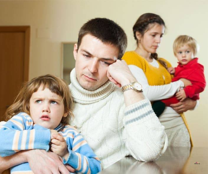 Featured image of frustrated family with kids