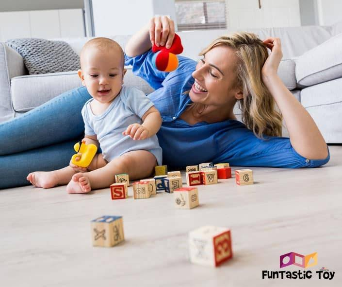 Featured image of mother and child playing