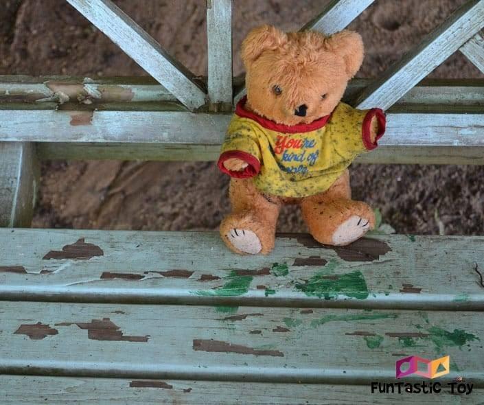 Image of dirty stuffed bear