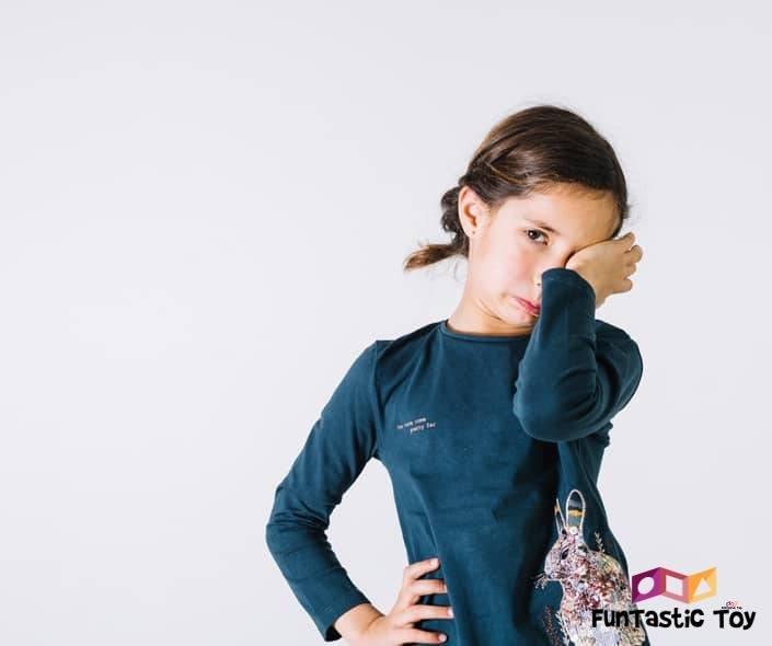 Image of sad girl crying