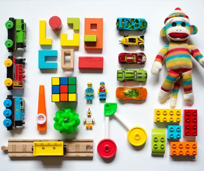 Image of sorted toys