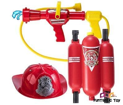Product image of Prextex Fireman Backpack Water Gun red