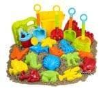 Small product image of 23pc Kangaroo Beach Toys Set
