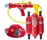 Small product image of Prextex Fireman Backpack Water Gun red