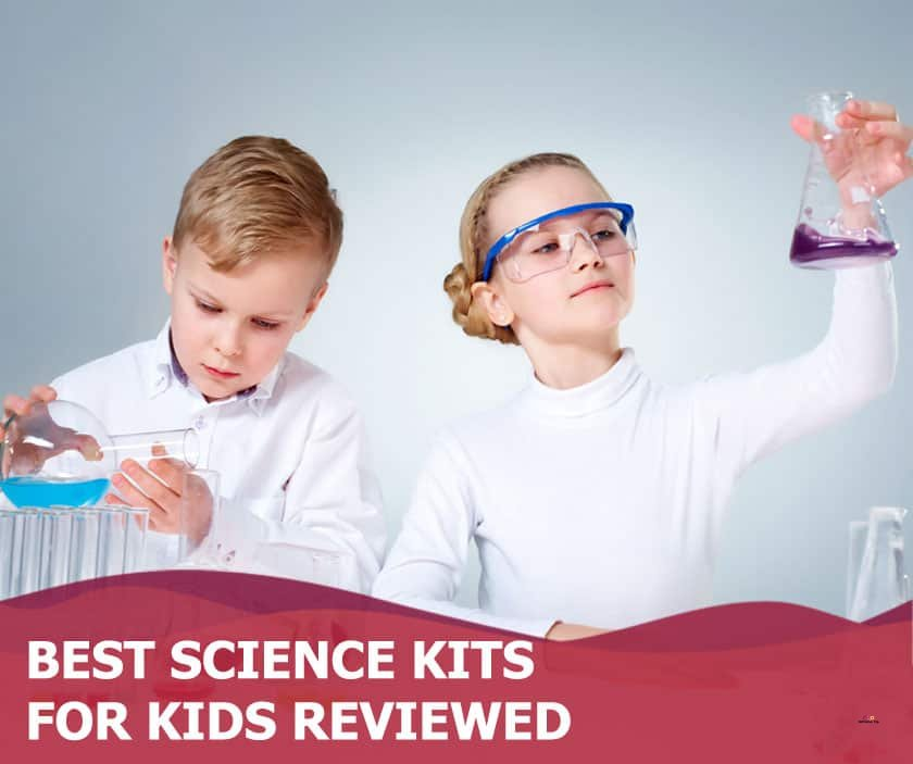 Featured image of boy and girl playing with chemistry set