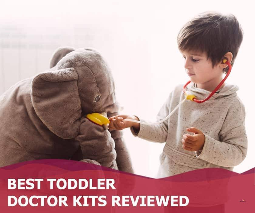 Featured image of boy playing doctor with stuffed elephant