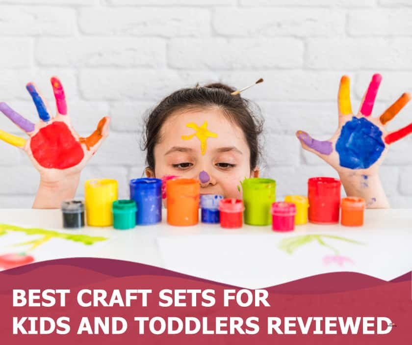 Featured image of little girl playing with paint on hands