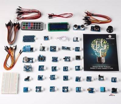 Product image of SunFounder Ultimate Mega 2560 Sensor Kit V2.0