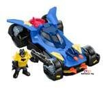 Small product image of Fisher-Price Imaginext DC Super Friends Batmobile blue