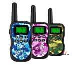 Small product image of Huaker Kids Walkie Talkies with Flashlight and LCD Screen