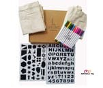 Small product image of Lifetime Inc Tote Decorating Kit with Canvas Bags