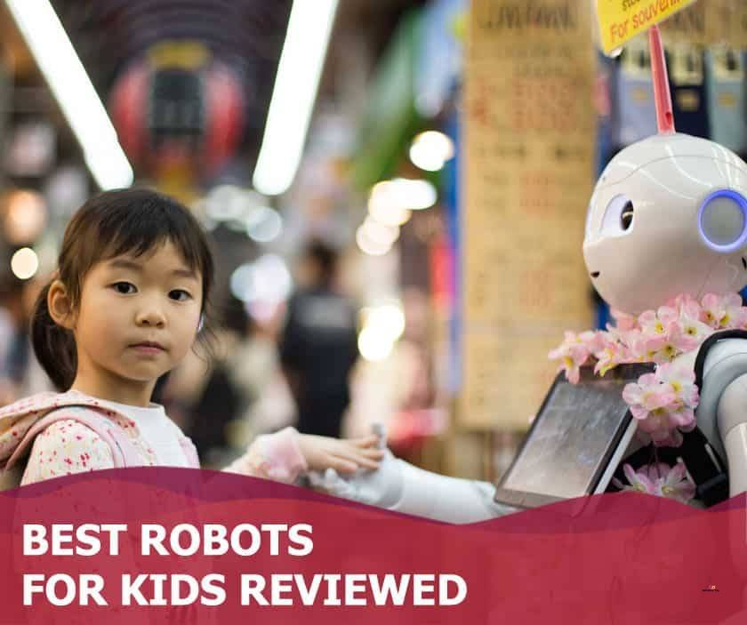 Featured image of asian girl holding hands with robot