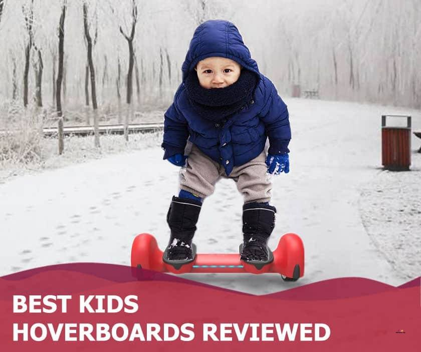 Featured image of boy riding hoverboard in snowy weather
