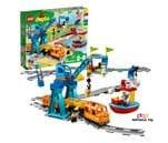 Small product image of LEGO DUPLO Cargo Train 10875 (Battery-Operated)
