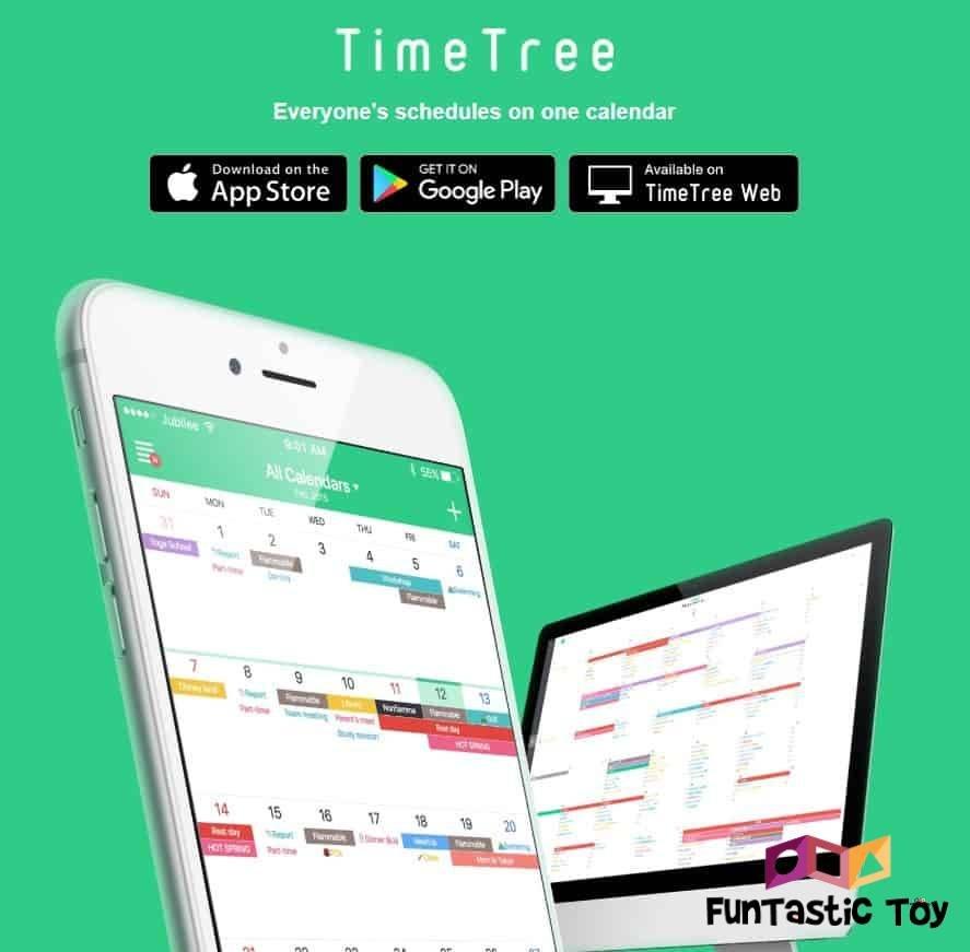 timetree calendar