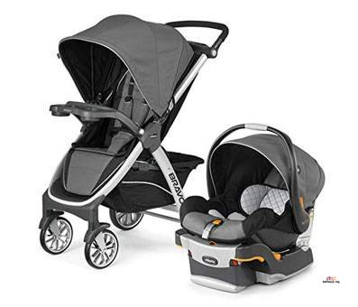 Product image of Chicco Bravo Trio Travel System