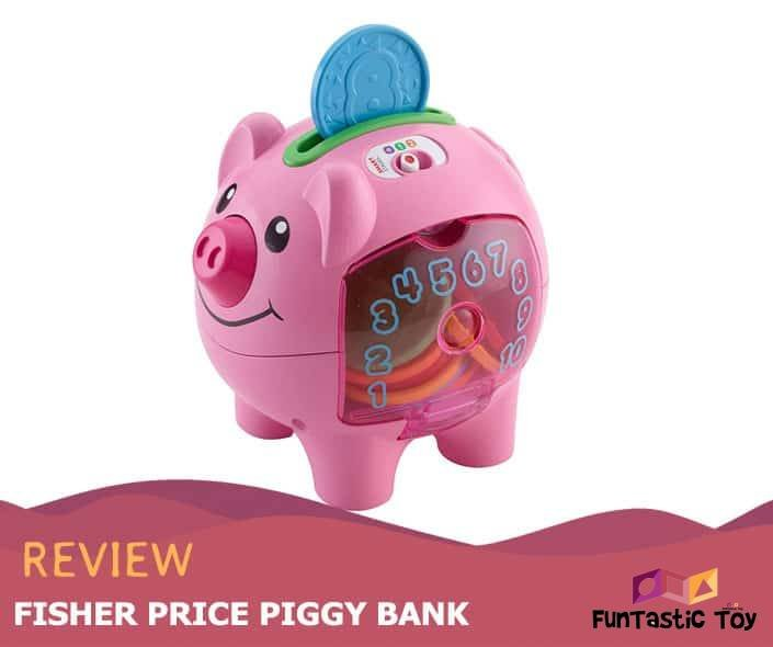 Featured image of Fisher Price Piggy Bank Review