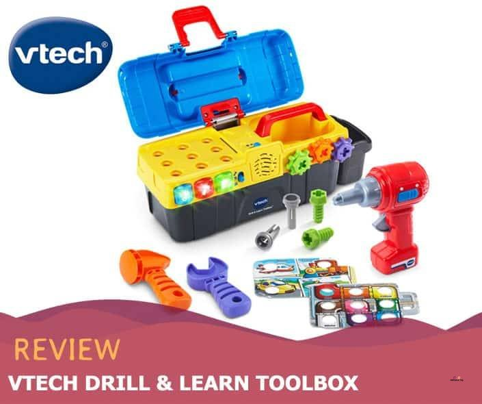 Featured image of VTech Drill & Learn Toolbox review