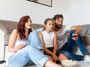 Featured image of family watching tv