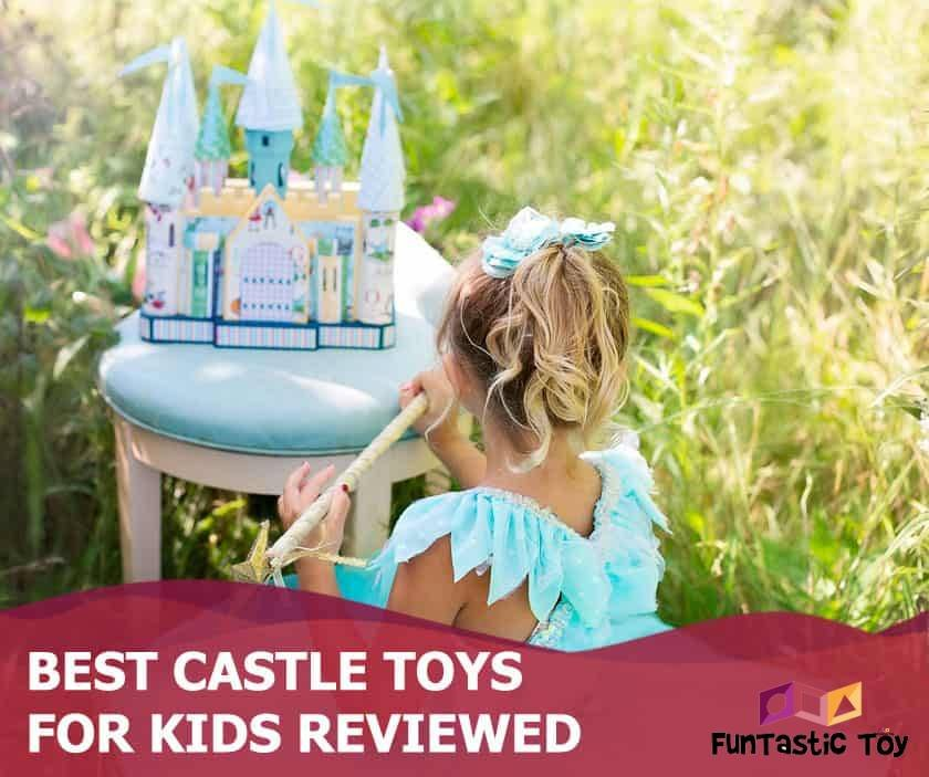 Featured image of girl dressed as princess with toy castle outdoors