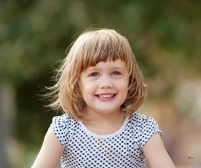Featured image of happy little girl outdoors