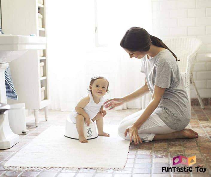 Featured image of mother and daughter on potty