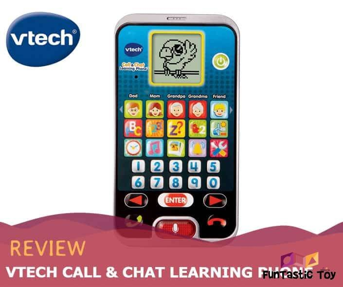 Featured image of VTech Call & Chat Learning Phone