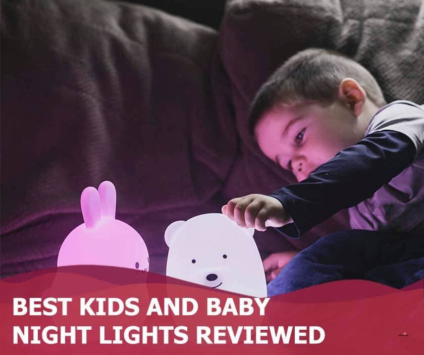 Featured image of boy in bed with animal night lights