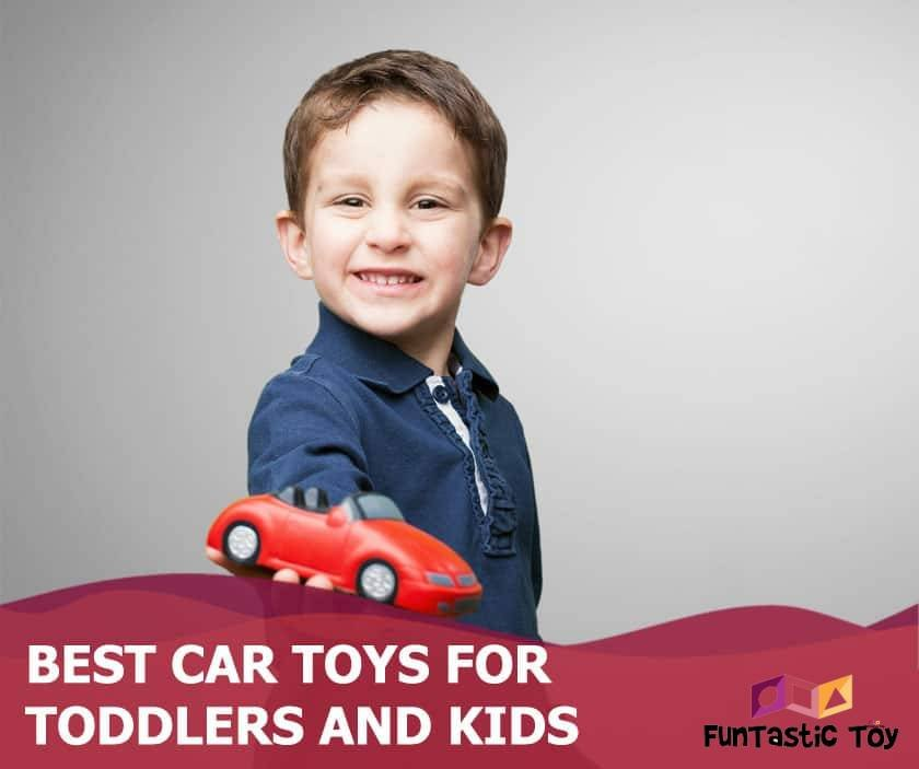 Featured image of boy in blue holding out toy car